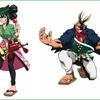 【僕のヒーローアカデミア キャラポップストア】『お祭りver.イラスト』に7/7(土)より新たに「蛙吹梅雨」と「オールマイト」が追加!