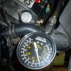 2号機 圧縮圧力&ピストンチェック