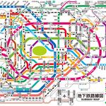 地下鉄の路線図がなかなか面白い!