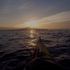 琵琶湖サンセット&サンライズ、夜の琵琶湖をカヤックで渡る。
