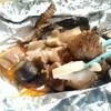 【ずぼら飯】さんま蒲焼き缶詰×冷凍きのこミックス、トースターで簡単!さんまとキノコのホイル焼き