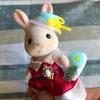 ショコラウサギちゃんの帽子とかばん