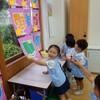 雨の日の幼稚園☂