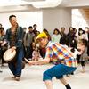 石坂亥士×山賀ざくろ こども&親子向けワークショップ 2018.10.6 打楽器叩いて、ダンスして、からだで遊ぼう!