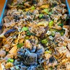 豚肉と高菜、茄子のマヨネーズソテー