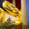 巨大な涅槃仏とアユタヤ様式の仏塔遺跡【タイの観光マイナー県散策:シンブリー】