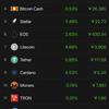 暴落する仮想通貨…ちょっと下げすぎ😅 価格操作しすぎな😭