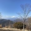 鍋割山 富士山の日に寄から登り道に迷う 2021.2.23