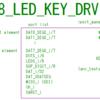 FPGAでitendoの8桁7seg+8LED+8キー表示ユニットを使うWIP その4