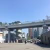 韓国旅行三日目(2)。旧ソウル駅舎を眺める。姜宇奎の立像。ソウル路7017で明洞方面へ