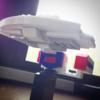 nanoblock+「U.S.S. Enterprise 1701-D」