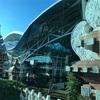 ングラライの空港ラウンジで朝ごはん