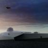 未来の軍艦はどんな姿だろうか。