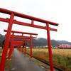 粟津稲生神社で一畑電車を撮る 師走の出雲遠征①