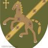 馬の紋章。メッシュ?