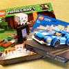 レゴのマイクラの闇のポータル、レゴシティのスポーツカー購入で消防ヘリコプターをプレゼント!