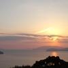 夕日の見える丘(地家室~外入(峠越え 往還道)