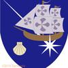 船の紋章。