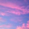 天界のような朝
