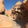 赤い岩肌のレッドロックキャニオン つづき