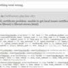 Azure Web Apps のPHPでSecureなAPIにアクセスするときの設定
