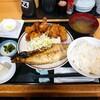 福徳食堂@原木中山 鯖の干物定食