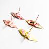 新作「フラワーシャワーの折り鶴」発表のお知らせ