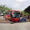 マラッカからクアラルンプールまでバスで移動する