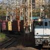 貨物列車撮影 4/20 海コン列車 × 青プレフルコック + 動画始めました
