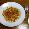シイタケのパスタ①トマトソース