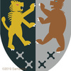 ライオンとクマの紋章