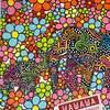 絵の新作「ゾウの花園」