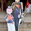 粟田神社で一期一振と秋田藤四郎を撮影。