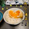 カレー味玉丼