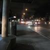 バス停風景(サウス・キング通り)〔2018年4月4日(水):2日目 44〕
