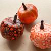 【Zentangle】かぼちゃとゼンタングルとインクトーバータングレス