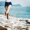 久しぶりの休暇は海へ🏖️昼寝の時間はリフレ👣