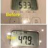 ダイエットの成果!😇2ヶ月マイナス5kg