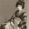 芸妓 富菊さん  昔の写真のカラー化