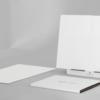 広さ2倍になると作業効率は4倍です!ポータブル・ホワイトボード「バタフライボードPro A3」
