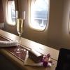 【搭乗記】タイ国際航空ファーストクラス ジャンボ機大好き!バンコク-羽田 TG660