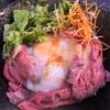 銀座のローストビーフ丼🍖🍖🍚