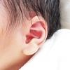 息子が中耳炎に…!初めて耳だれも起こしました