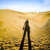 銀肯塔拉砂漠での撮影-砂漠の星撮影ツアー内モンゴル(3)