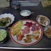 幸運な病のレシピ( 901 )夜:刺身三昧、汁仕立て直し、鶏皮照り焼き