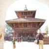 ネパ-ルの宮廷と寺院・仏塔 第207回     カトマンドゥ盆地の寺院と仏塔 チャング・ナラヤンの寺院