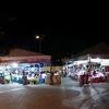 コタキナバルの夜の屋台へ マレーシア名物料理サテーを食べ歩き ナイトマーケット Gerai Santai Haji Manja 屋台に行くツアーも紹介