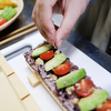 野菜で作る押し寿司「VEGESUSHI」つくってみた