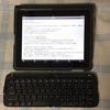 初代 iPad と Bluetooth キーボード
