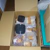 新居での荷出し・食器:現時点で開封していない食器はそのまま梱包した状態で棚に仕舞うことにする